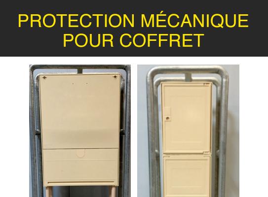 Protection mécanique pour coffret
